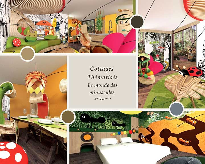 Cottage Thématique le Monde de Minuscule Domaine Les Hauts de Bruyères