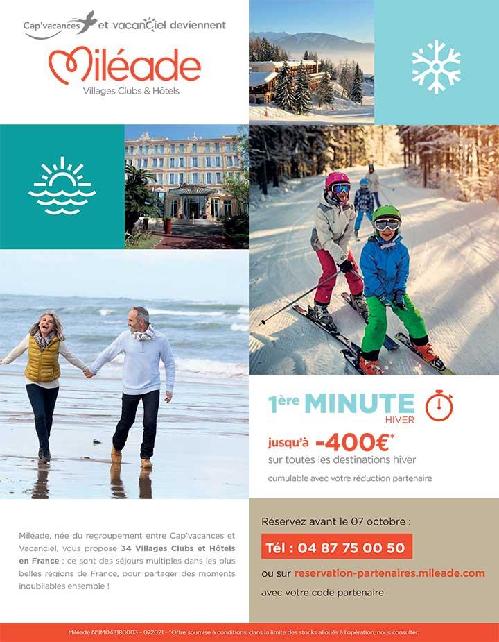 Première minute hiver Miléade